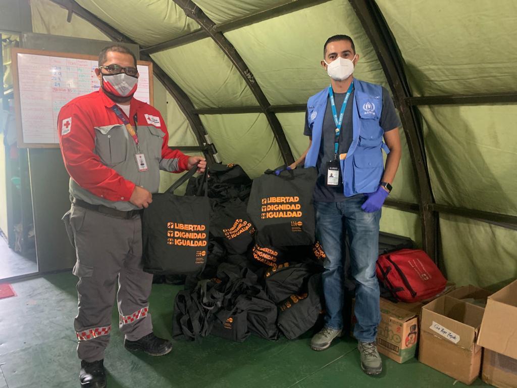 ONU entrega ayuda humanitaria a Costa Rica para atender solicitantes de refugio y migrantes en Peñas Blancas