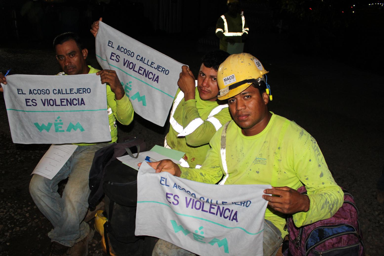 COSTA RICA: cómo los trabajadores de la construcción pueden convertirse en aliados para detener el acoso sexual contra las mujeres