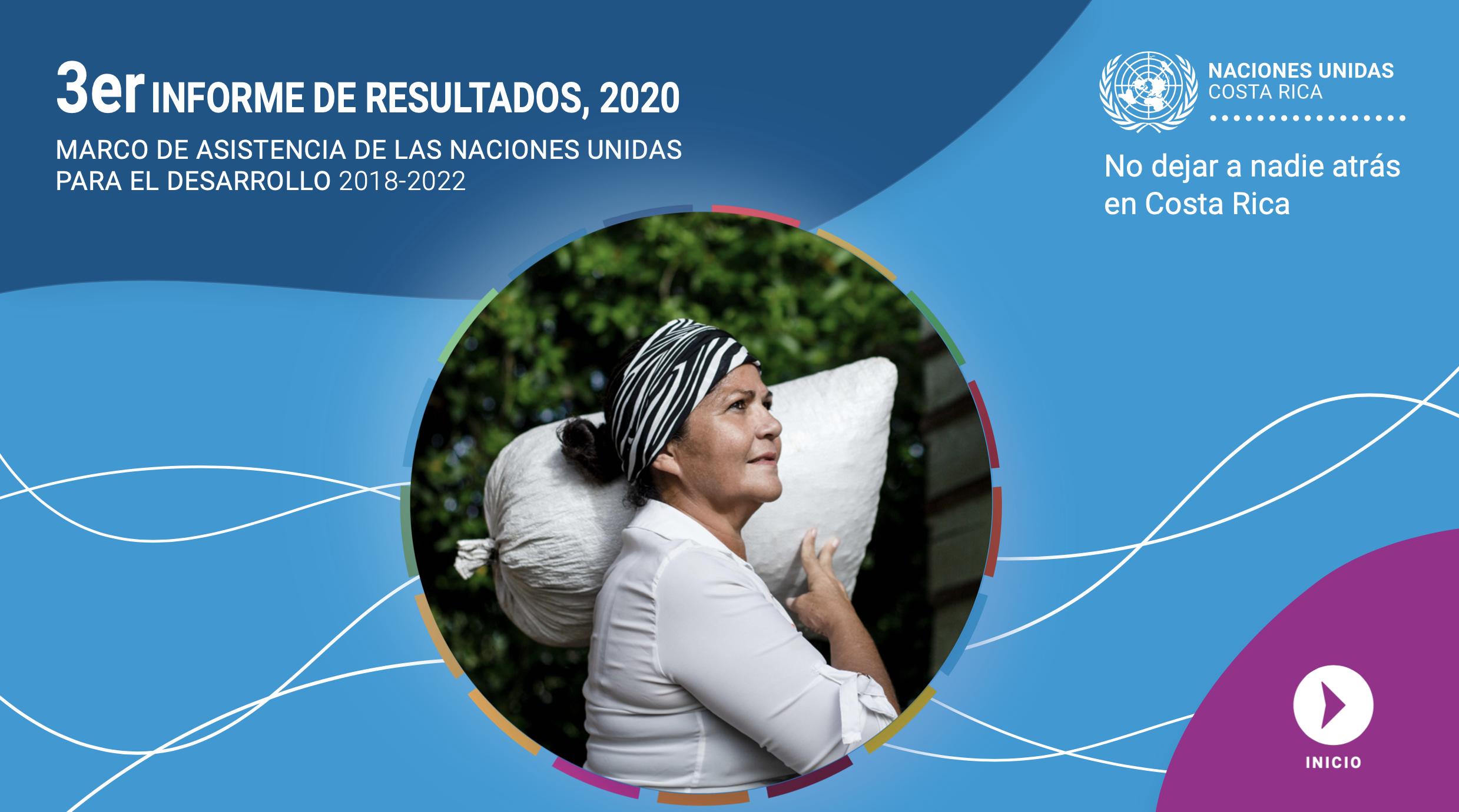 Tercer Informe de Resultados 2020 - Marco de Asistencia de las Naciones Unidas para el Desarrollo