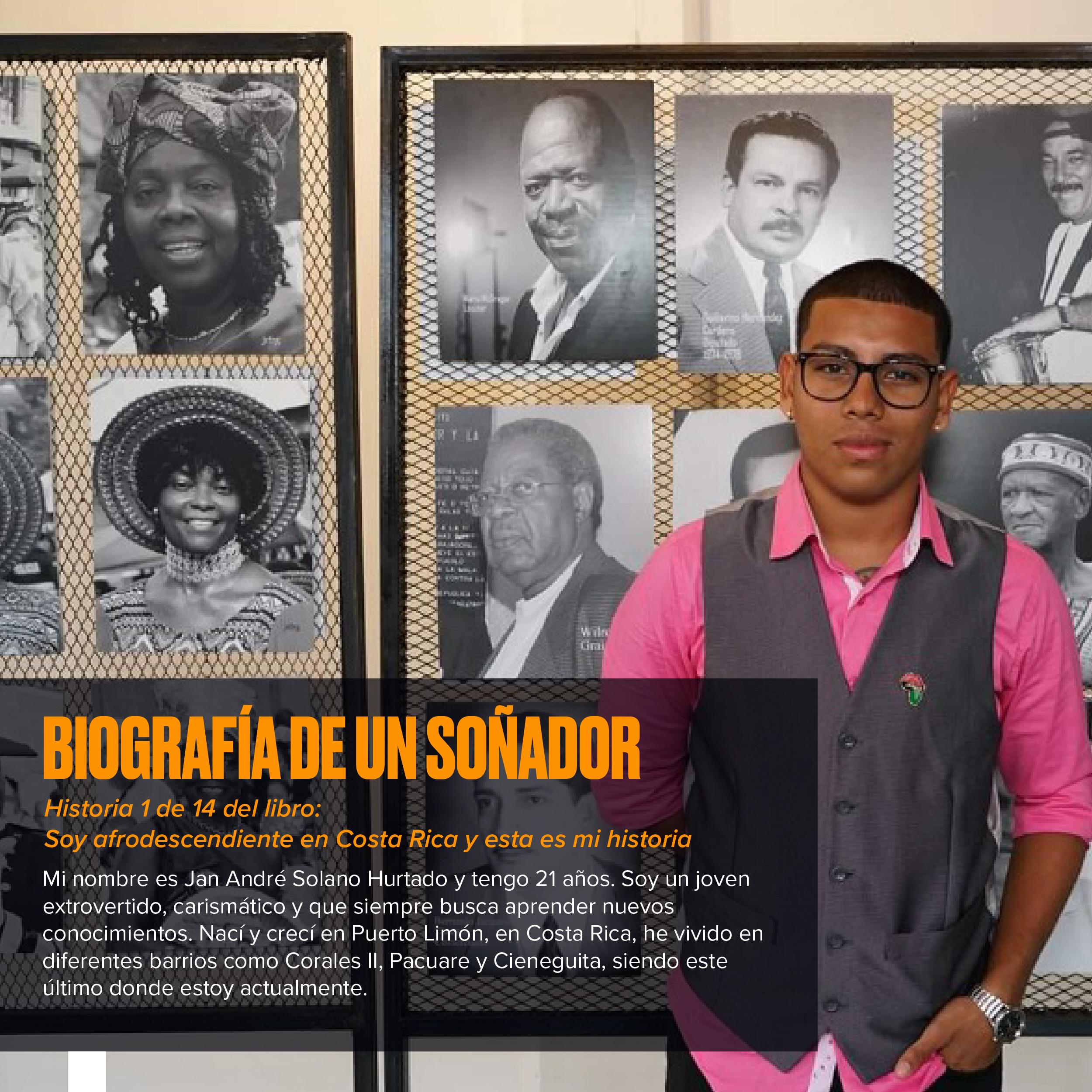 Biografía de un soñador: Historias afrodescendientes