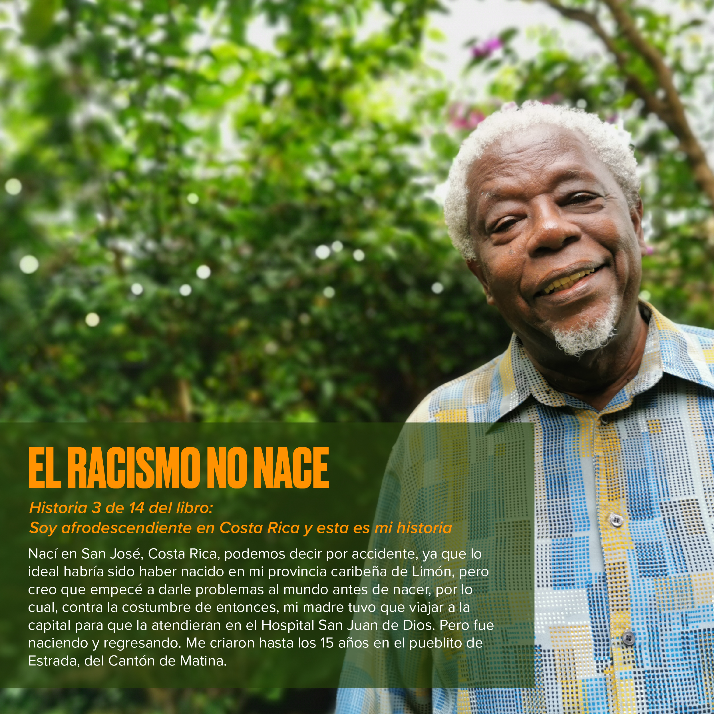 El racismo no nace: Historias afrodescendientes
