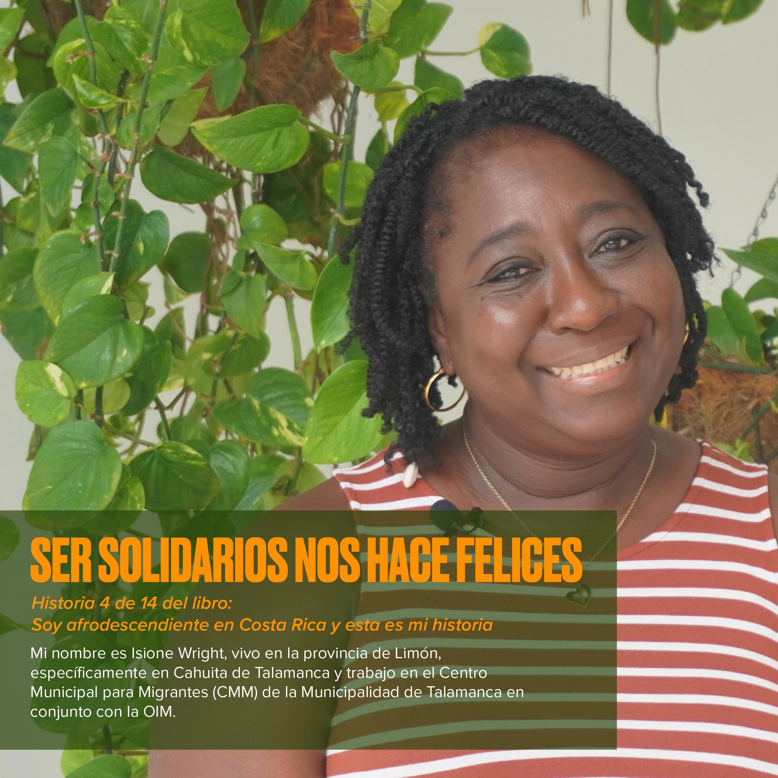 Ser solidarios nos hace felices: Historias afrodescendientes