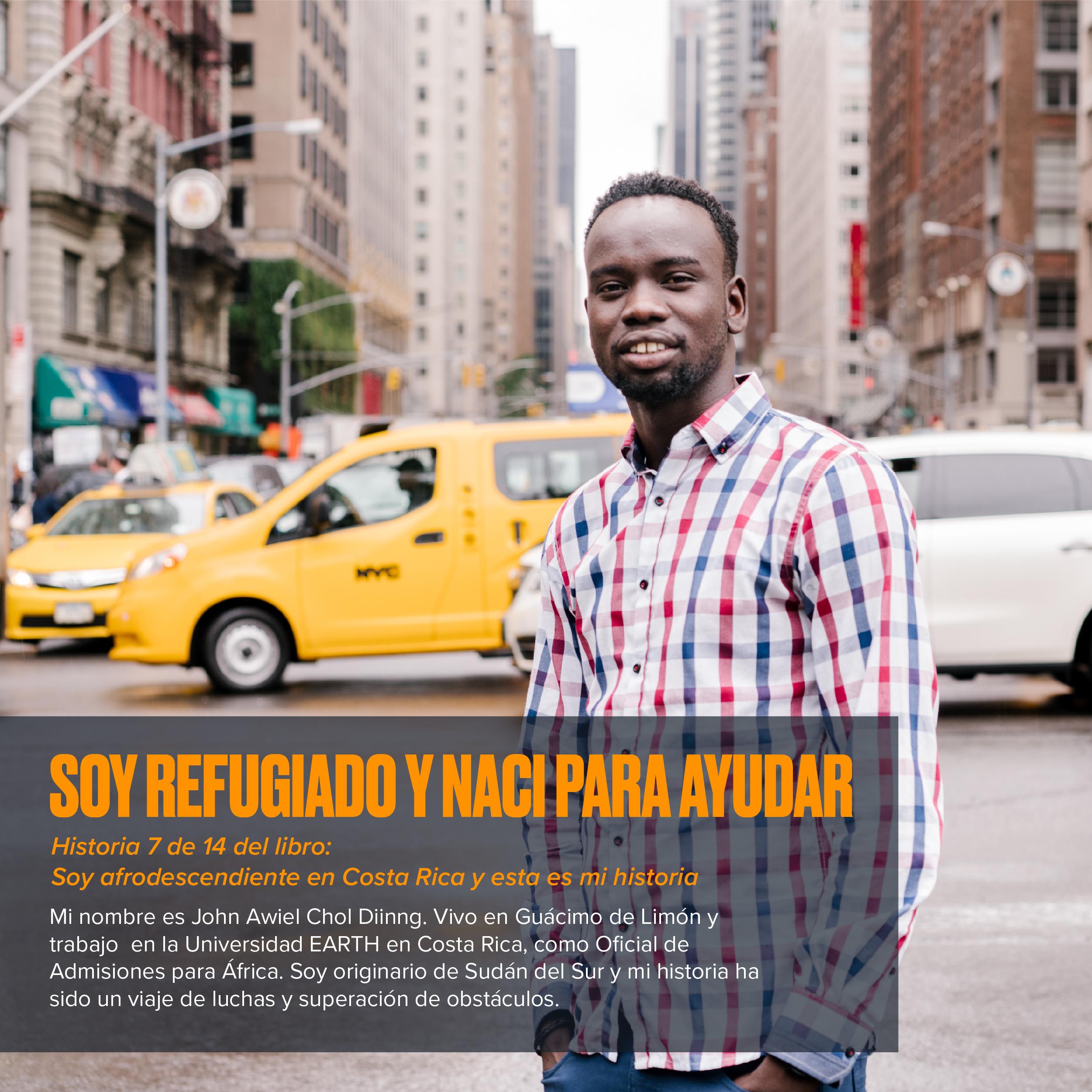Soy refugiado y nací para ayudar: Historias afrodescendientes