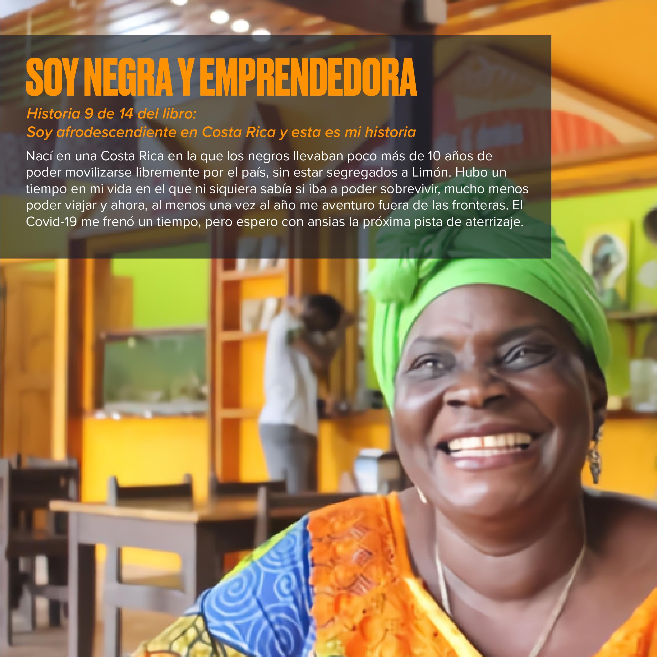 Soy negra y emprendedora: Historias afrodescendientes