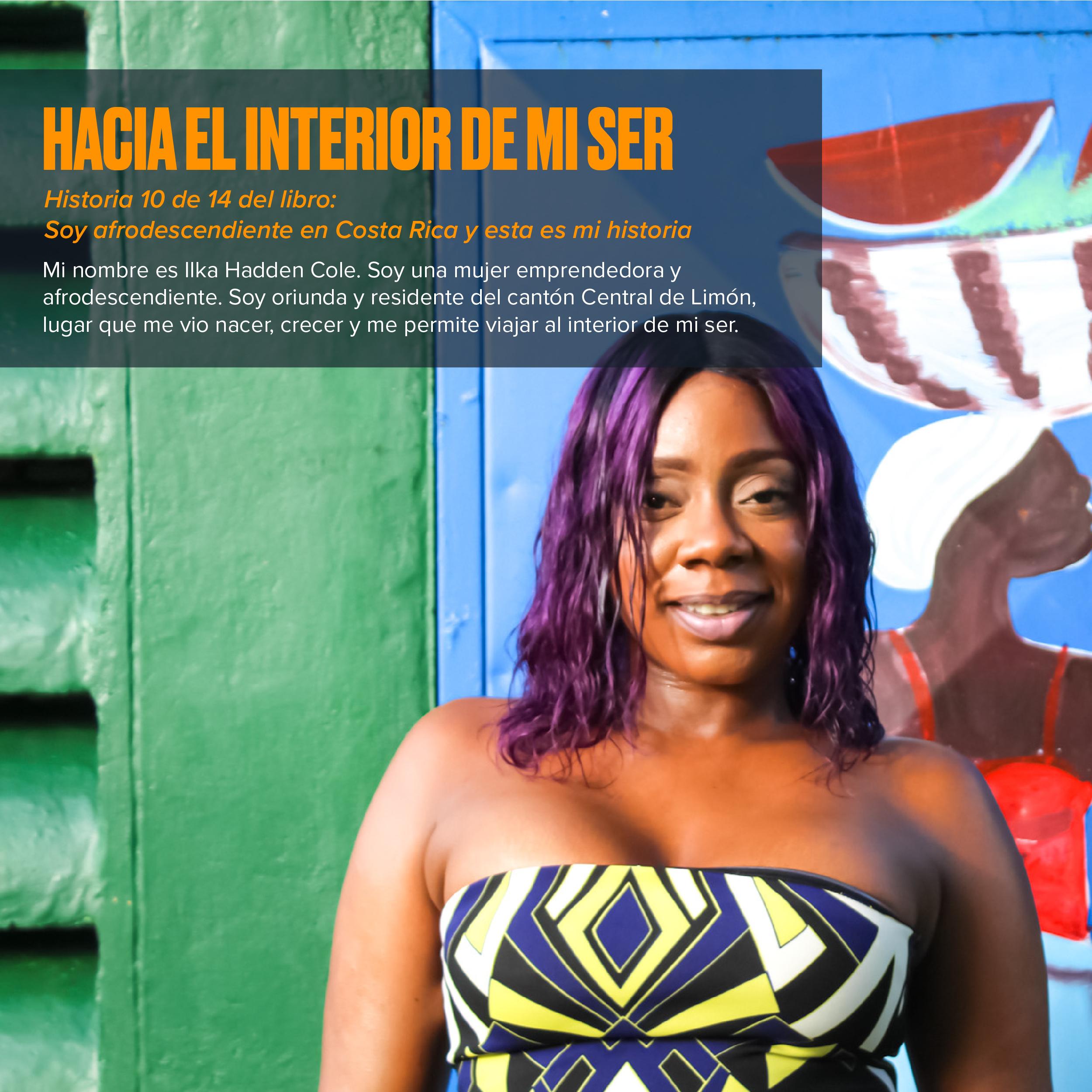 Hacia el interior de mi ser: Historias afrodescendientes
